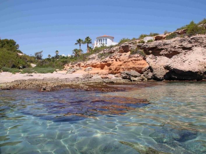 Location de vacances - Villa à L'Ametlla de Mar - mer