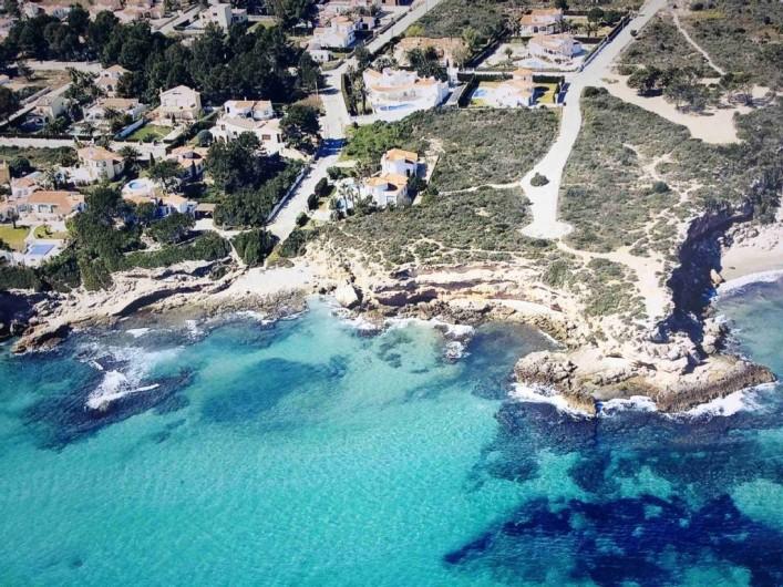 Location de vacances - Villa à L'Ametlla de Mar - vue aérienne