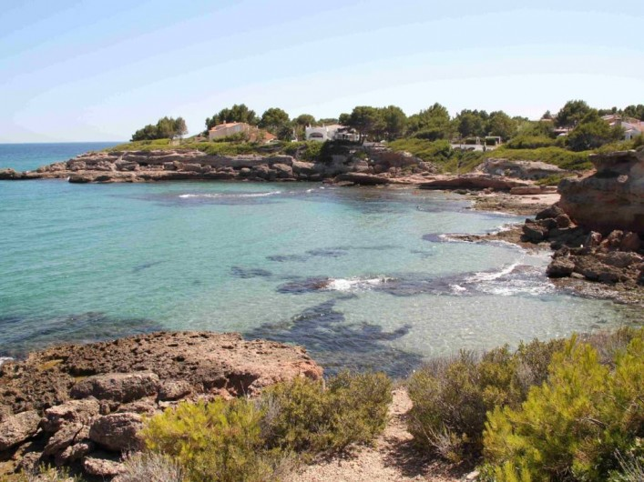 Location de vacances - Villa à L'Ametlla de Mar - eau cristalline