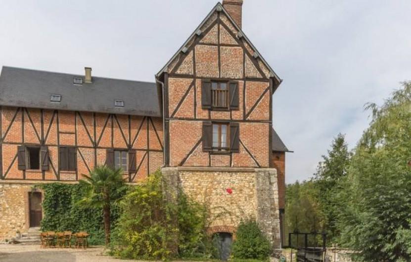 Location de vacances - Chambre d'hôtes à Saint-Vigor - La façade du Moulin