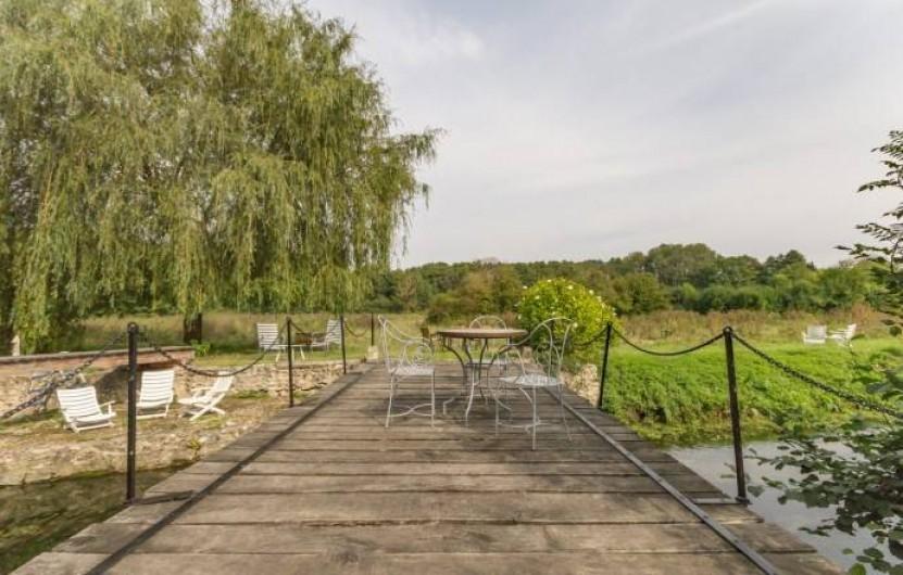 Location de vacances - Chambre d'hôtes à Saint-Vigor - Le pont