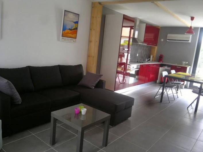 Location de vacances - Maison - Villa à Arcachon - salon séjour