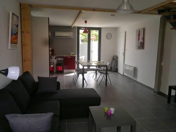 Location de vacances - Maison - Villa à Arcachon - sejour avec tv  et wifi