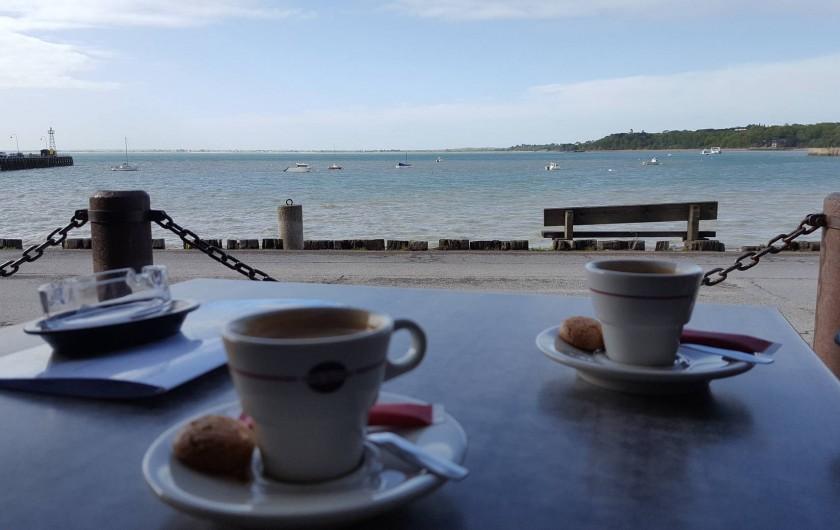 Location de vacances - Appartement à Cancale - Cancale, vue sur la baie du Mont St Michel