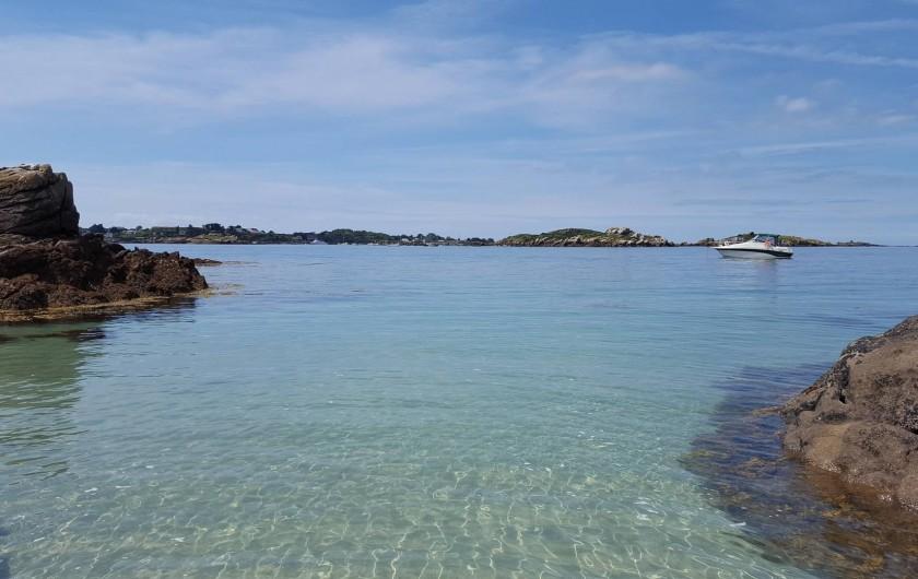 Location de vacances - Appartement à Cancale - Les îles Chausey