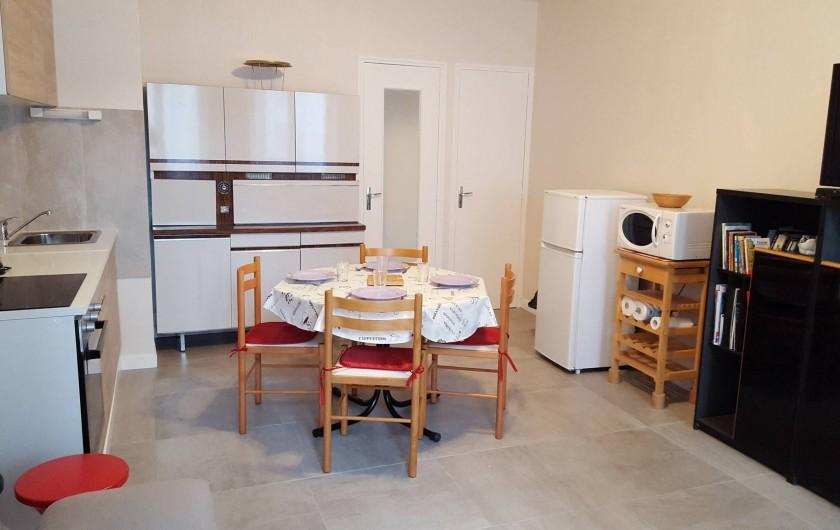 Location de vacances - Appartement à Cancale - Cuisine