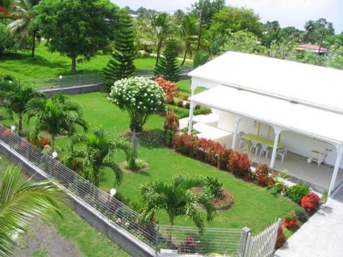 Location de vacances - Villa à Douville - Jardin villa Pomme Cannelle