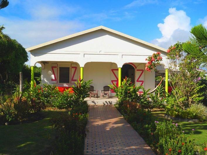 Location de vacances - Villa à Douville - Façade Villa Pomme Cannelle