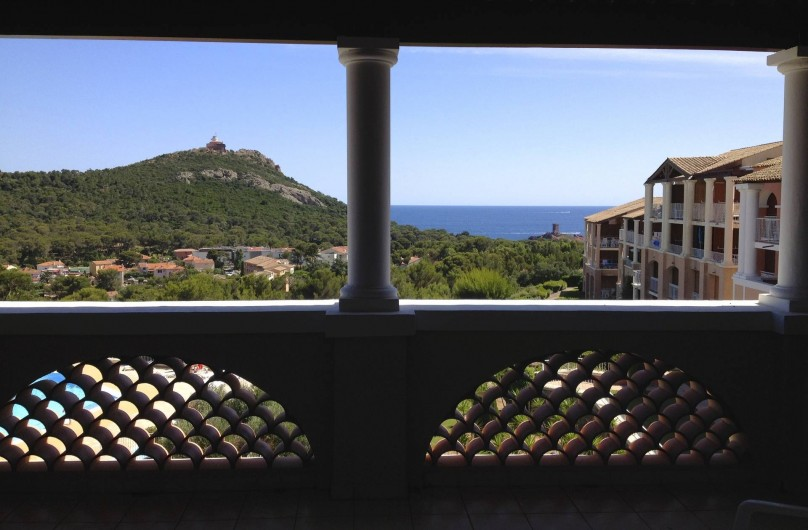 Location de vacances - Appartement à Agay - Vue de l'intérieur de l'appartement, calme et reposant...