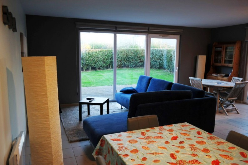 Location de vacances - Maison - Villa à Wimereux - vue du salon