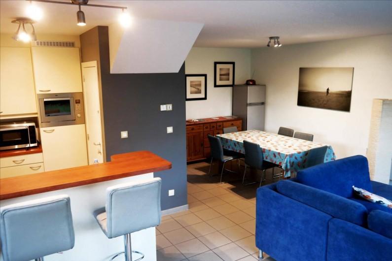 Location de vacances - Maison - Villa à Wimereux - salle a manger
