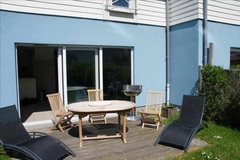 Location de vacances - Maison - Villa à Wimereux - terrasse