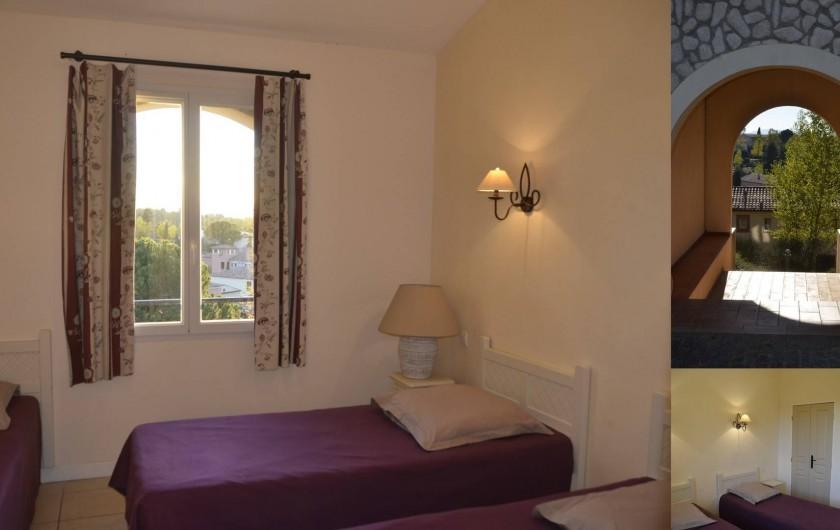 Location de vacances - Maison - Villa à Grospierres - Chambre
