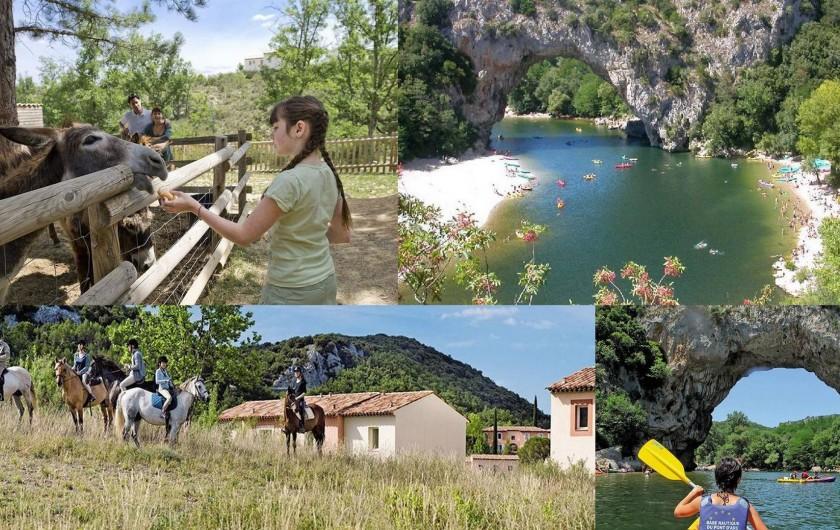 Location de vacances - Maison - Villa à Grospierres - Activités extérieures