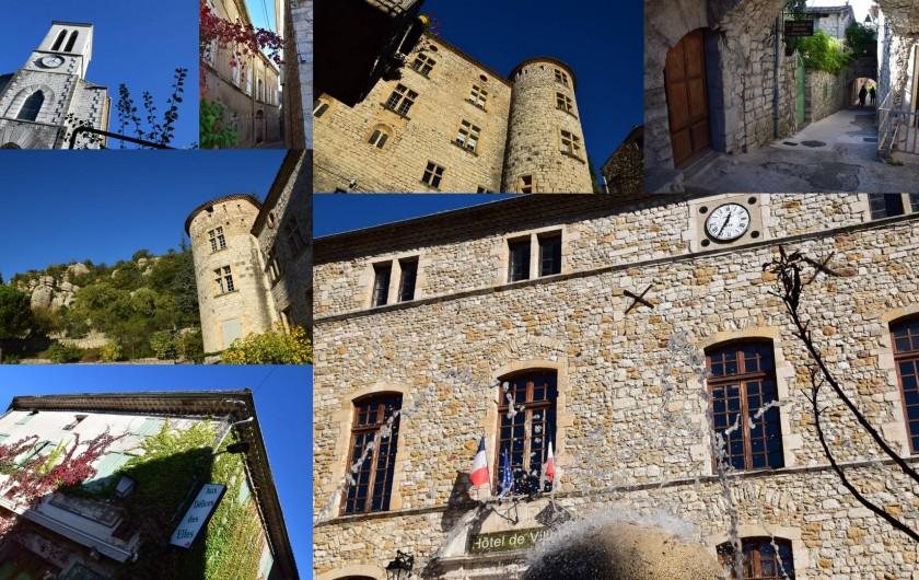 Location de vacances - Maison - Villa à Grospierres - Ville aux alentours (Baluzac, Vogüé, Vallon Pont d'Arc, ...)