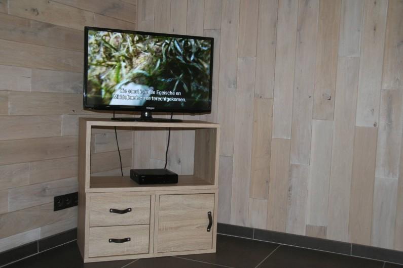 Location de vacances - Gîte à Wodecq - TV large écran plat , belgacom tv, wifi, ...