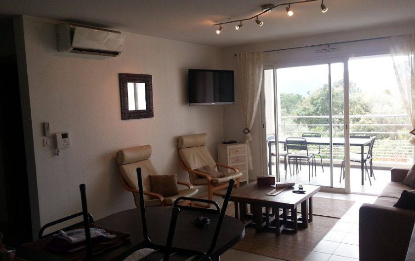Location de vacances - Appartement à Porto-Vecchio - Interphone dans salon