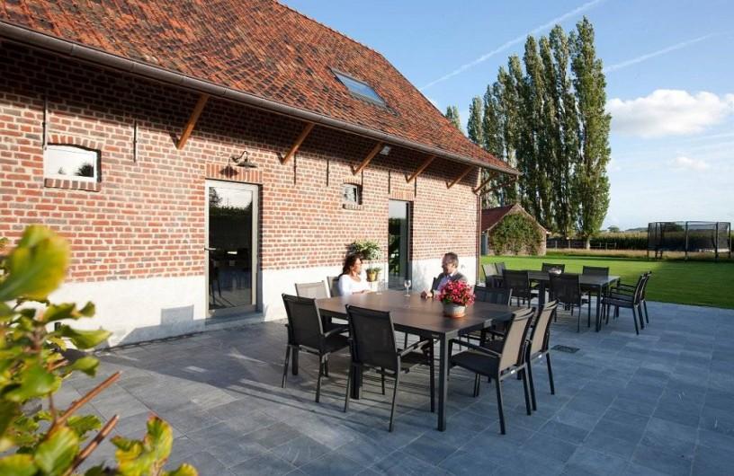 Location de vacances - Chambre d'hôtes à Zwevegem - Terasse