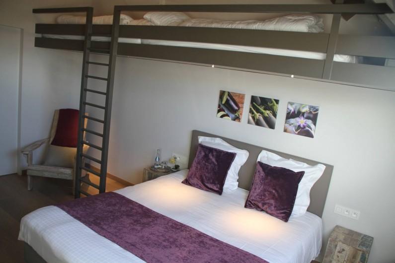 Location de vacances - Chambre d'hôtes à Zwevegem - Chambre Aubergine