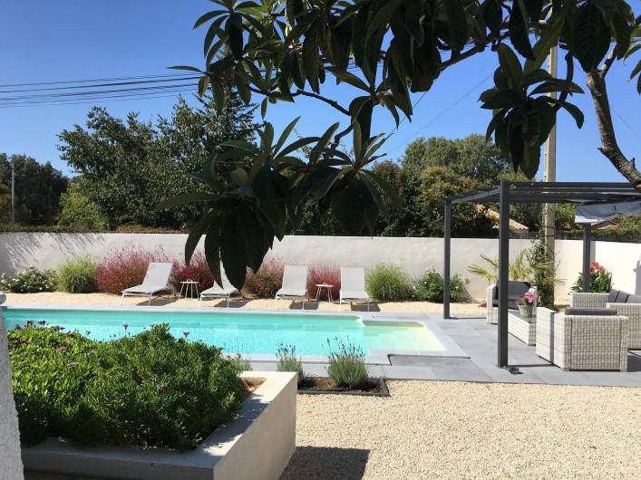 Location de vacances - Villa à Aigues-Vives - Pool