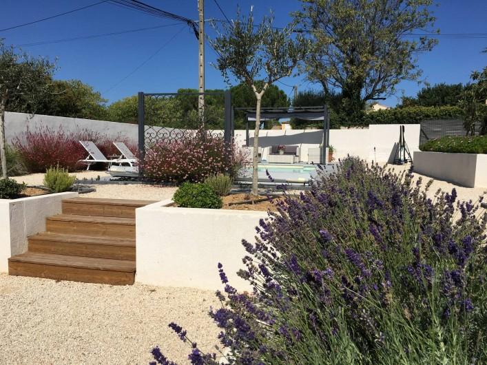 Location de vacances - Villa à Aigues-Vives - Garden