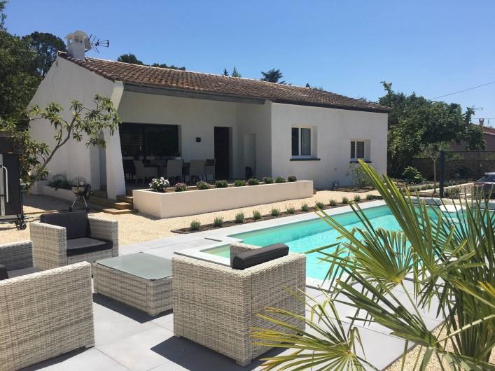 Location de vacances - Villa à Aigues-Vives - Exterior