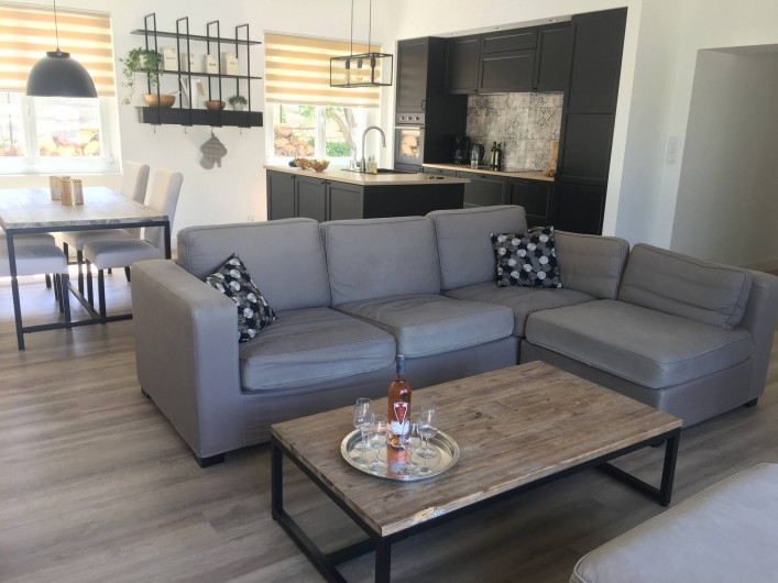 Location de vacances - Villa à Aigues-Vives - Living room