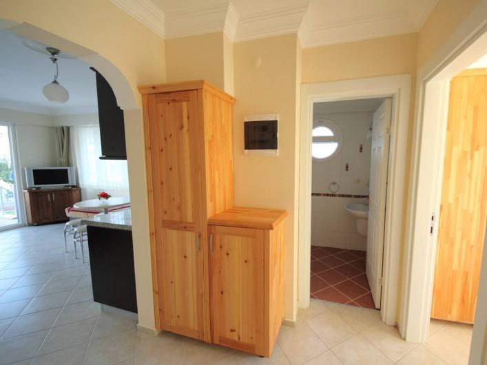 Location de vacances - Appartement à Fethiye - Entrée