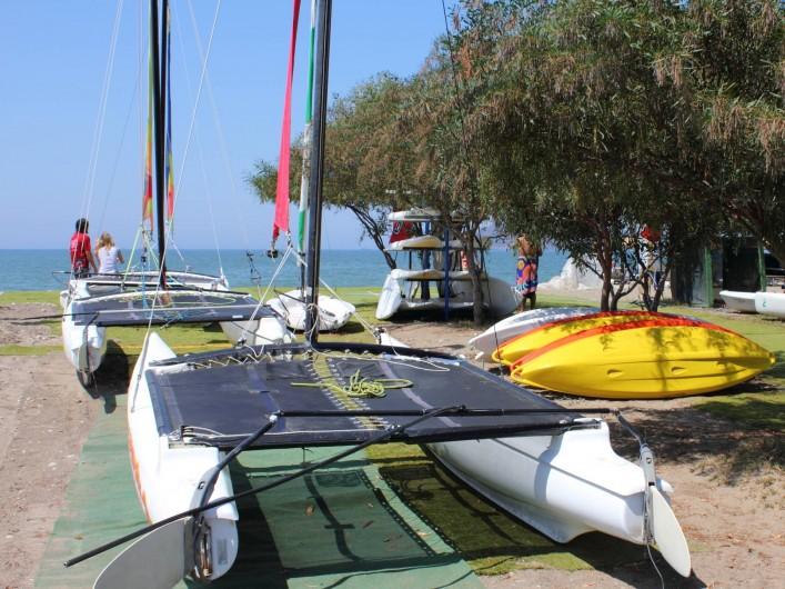 Location de vacances - Appartement à Fethiye - Location de sports nautiques divers à deux pas de l'apartement