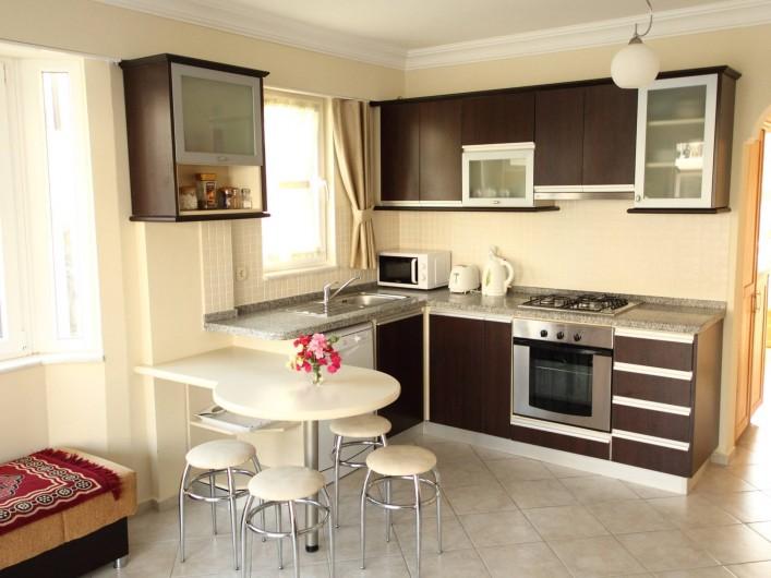 Location de vacances - Appartement à Fethiye - Coin cuisine