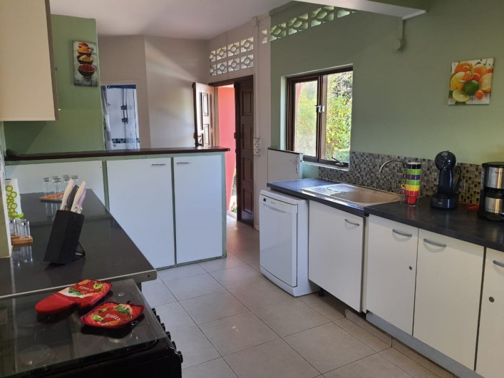 Location de vacances - Villa à Petit Bourg - Cuisine