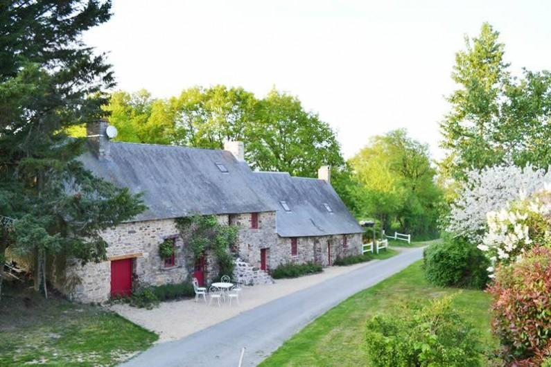 Location de vacances - Gîte à La Baconnière - Longère accès piétonnier ou à vélo, parking gratuit pour voiture à 50 m