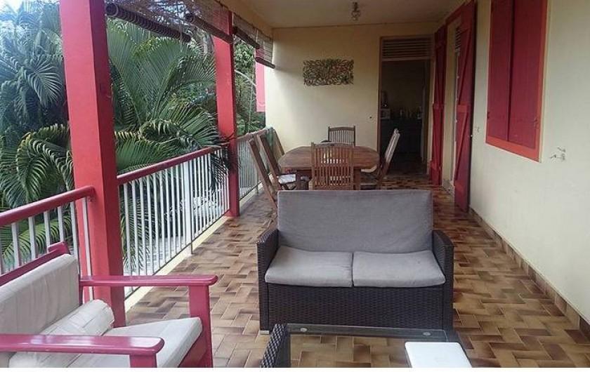 Location de vacances - Appartement à Deshaies - Terrasse MONTANA ( 4 à 9 personnes)
