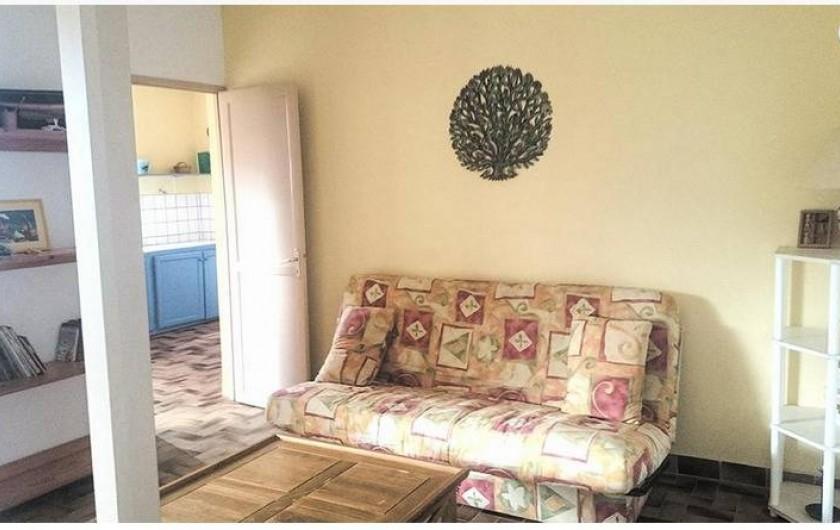 Location de vacances - Appartement à Deshaies - Salon MONTANA ( 4 à 9 personnes)