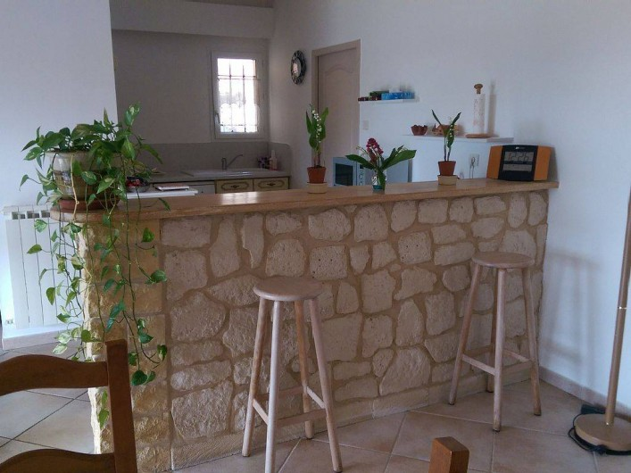 Location de vacances - Villa à Pujaut - Vue cuisine