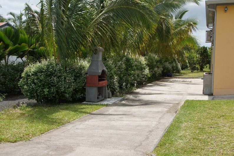 Location de vacances - Villa à Saint-Louis - Parking et barbecue privatifs