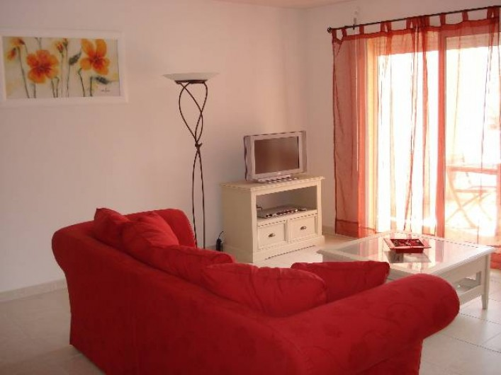 Location de vacances - Appartement à Cannes - Salon