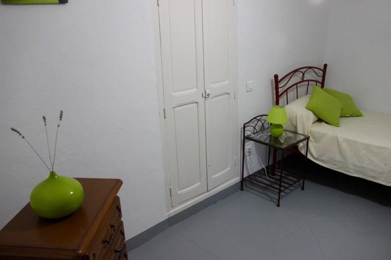 Location de vacances - Gîte à Notre-Dame-de-la-Rouvière - Vue très partielle petite chambre 3