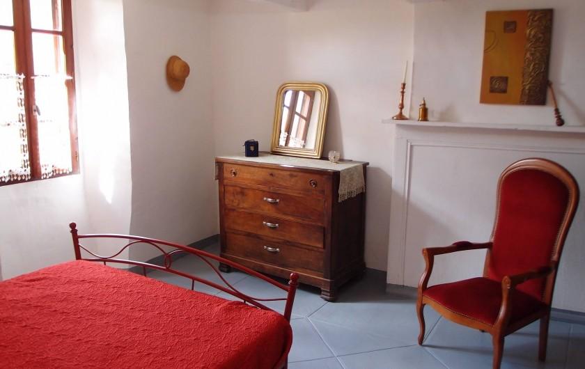 Location de vacances - Gîte à Notre-Dame-de-la-Rouvière - La   chambre   2