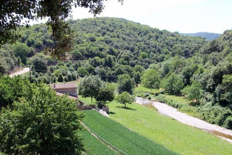 Location de vacances - Gîte à Notre-Dame-de-la-Rouvière - Vue depuis la Terrasse