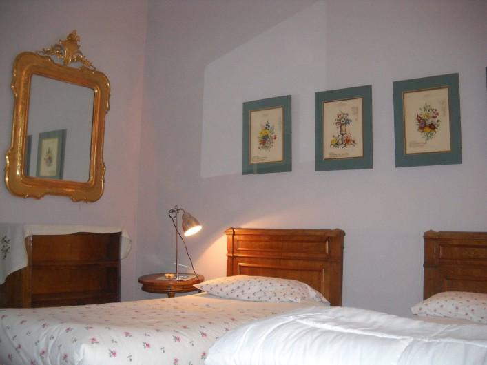 Location de vacances - Appartement à Incisa in Val d'Arno - La chambre au miroir