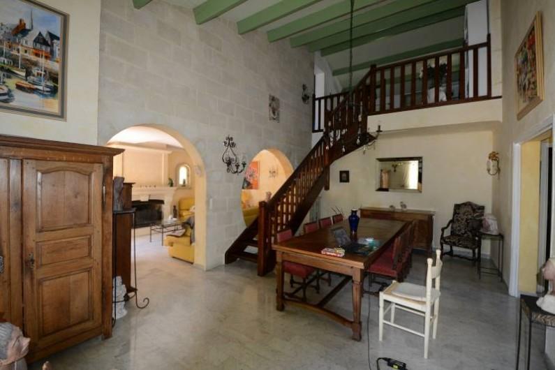 Location de vacances - Villa à Monteux - salle à manger
