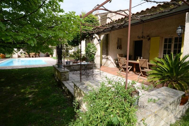 Location de vacances - Villa à Monteux - Terasse