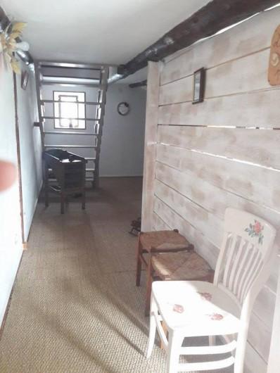 Location de vacances - Chambre d'hôtes à Vernet-la-Varenne - Entrée de la chambre d'hôte