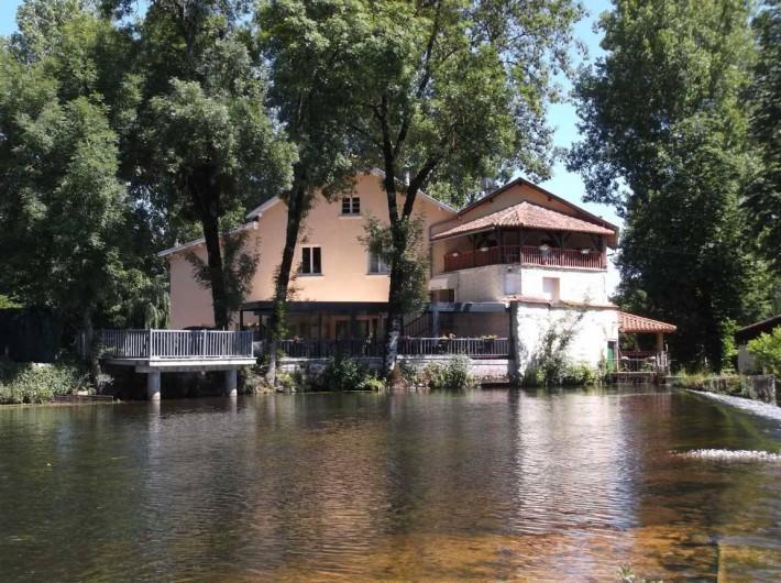 Location de vacances - Gîte à Lisle - Le moulin
