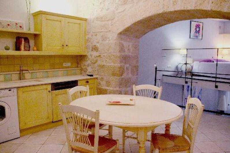 Location de vacances - Appartement à Robion - Cuisine