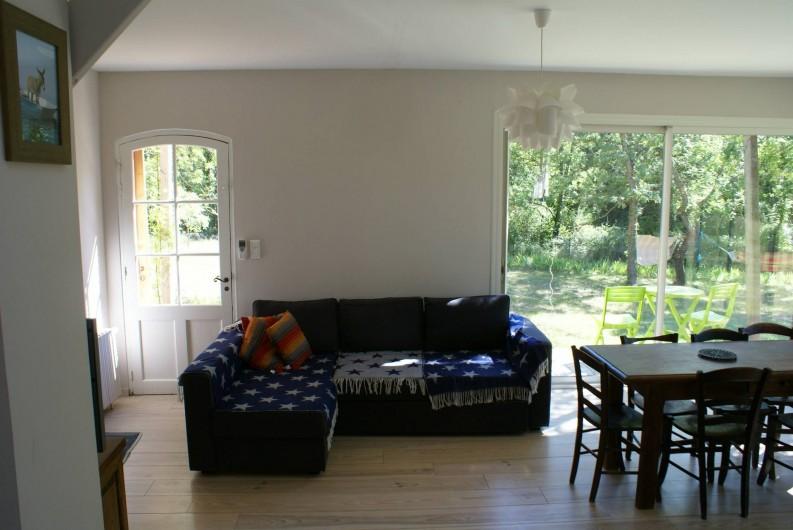 Location de vacances - Villa à Saignon - salon  séjour
