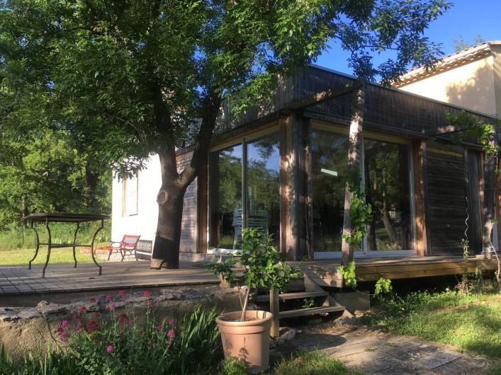 Location de vacances - Villa à Saignon - terrasse