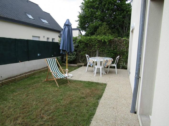 Location de vacances - Maison - Villa à Penvins - petit terrain clos