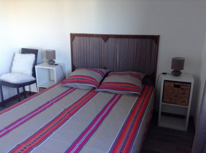 Location de vacances - Chalet à Saint-Leu - Chambre avec lit 140